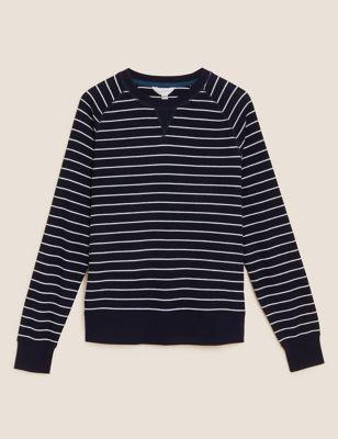 Supersoft Waffle Loungewear Sweatshirt