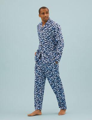 Pure Cotton Fish Print Pyjama Set