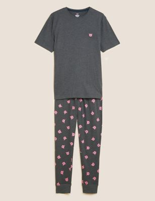 Cotton Supersoft Percy Pig™ Pyjama Set