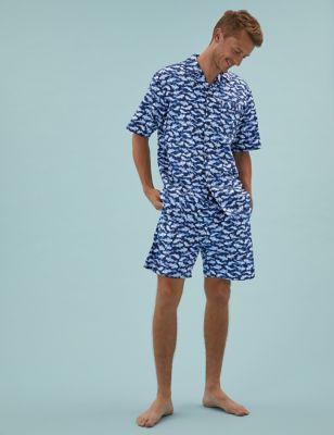 Pure Cotton Fish Print Pyjama