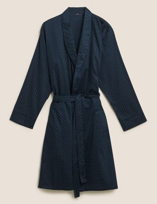 Pure Cotton Dressing Gown