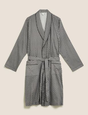 Cotton Tencel™ Woven Dressing Gown