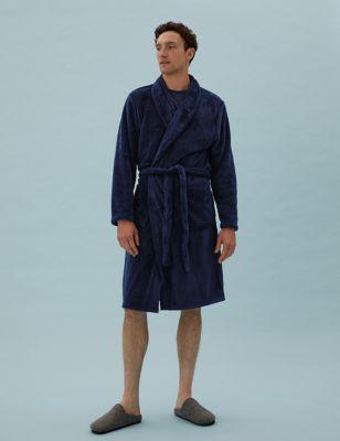 Longer Length Supersoft Fleece Gown