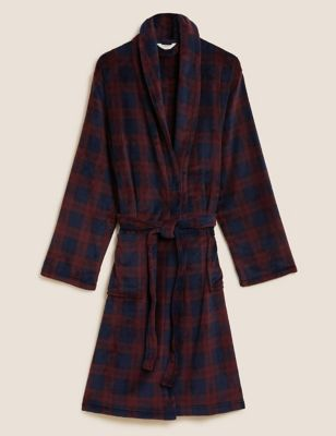 Supersoft Checked Dressing Gown