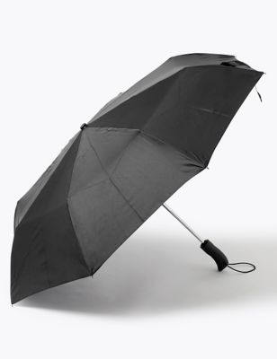 Recycled Polyester Rubber Handle Umbrella with Windtech™