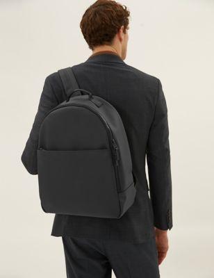 Rubberised Backpack