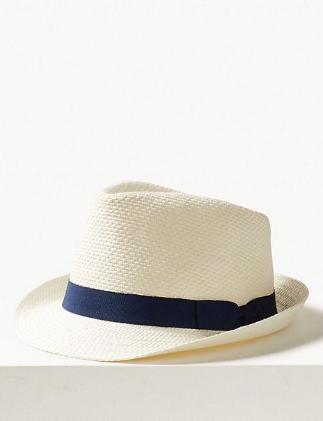 Hopsack Trilby Hat