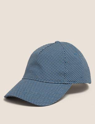 Geometric Print Baseball Cap