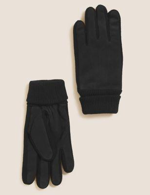 Nubuck Leather Gloves