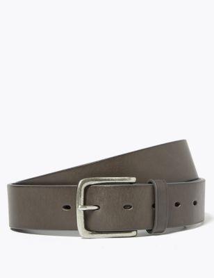 Italian Leather Casual Belt