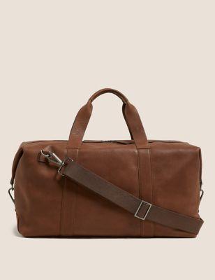 Premium Leather Weekend Bag