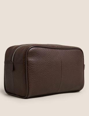 Leather Washbag