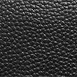Leather Laptop Bag - black
