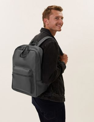 Rubberised Tote Backpack
