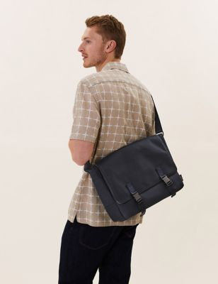 Recycled Polyester Pro-Tect™ Messenger Bag