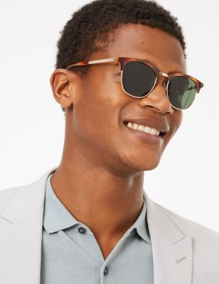 D Frame Polarised Sunglasses