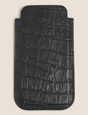 Mock Croc Leather iPhone 11 Case