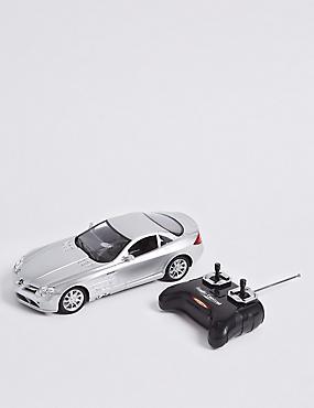 Mercedes Mclaren Remote Control Car 1:18, SILVER, catlanding