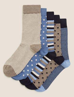 5pk Cool & Fresh™ Assorted Socks