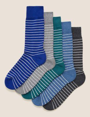 5pk Cool & Fresh™ Cushioned Socks