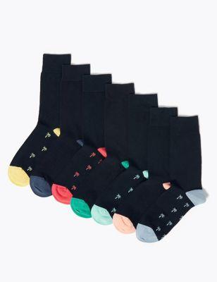 7 Pack Cotton Cool & Fresh™ Socks