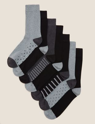 7 Pack Cool & Fresh™ Assorted Socks