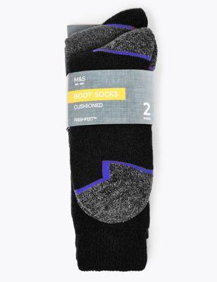 2pk Freshfeet™ Heavyweight Work Socks