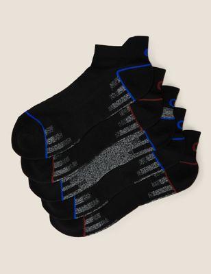 5pk Cushioned Trainer Socks