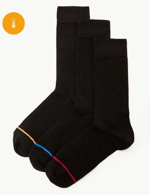3pk Light Warmth Thermal Socks