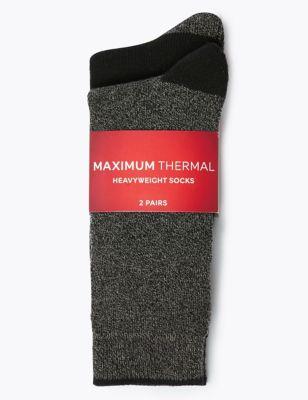 2pk Maximum Warmth Thermal Socks