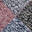 4pk Casual Ribbed Socks - redmix