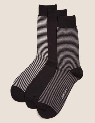 3 Pack Modal Pima Cotton Socks