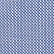 Slim Fit Cotton Shirt with Stretch - blue