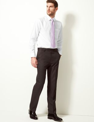 Tailored Fit Pure Cotton Twill Shirt
