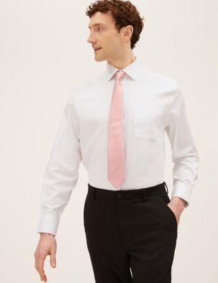 Regular Fit Cotton Non-Iron Shirt