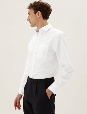 Regular Fit Striped Non-Iron Shirt