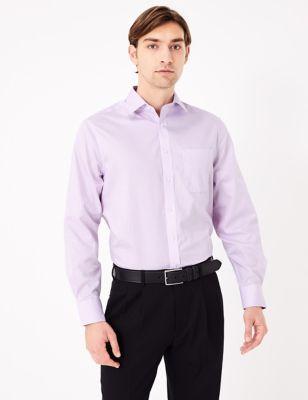 Regular Fit Non Iron Striped Shirt