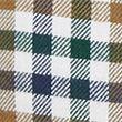 Regular Fit Brushed Cotton Check Shirt - darkgreen