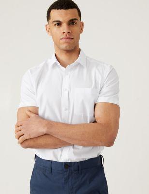 3 Pack Slim Fit Short Sleeve Shirts