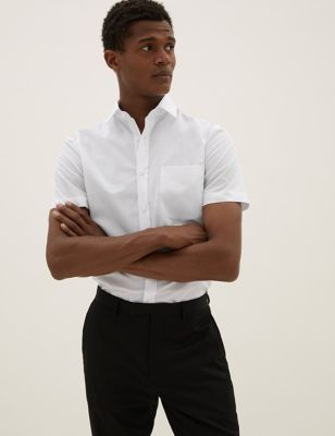 3 Pack Skinny Fit Short Sleeve Shirts