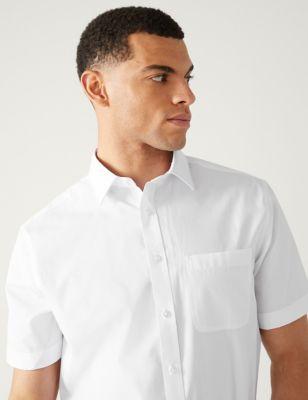 3 Pack Regular Fit Short Sleeve Shirts