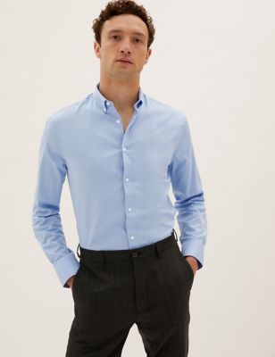 Regular Fit Pure Cotton Shirt
