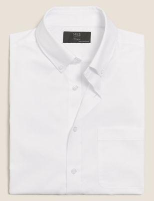 Regular Fit Easy Iron Cotton Shirt