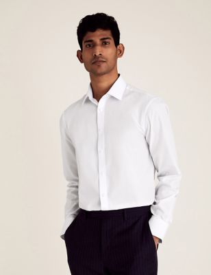 Slim Fit Easy Iron Shirt