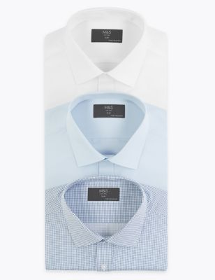 3 Pack Slim Fit Shirt