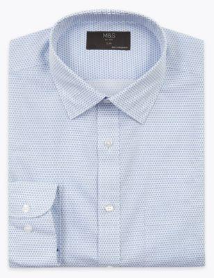 5 Pack Slim Fit Long Sleeve Shirts