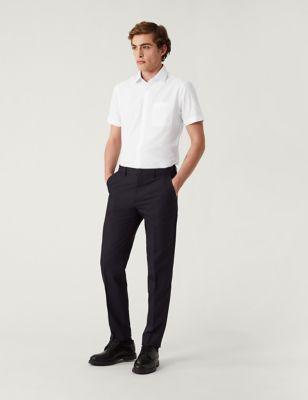 5 Pack Slim Fit Short Sleeve Shirts