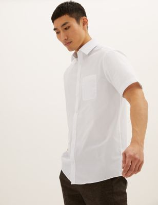 5 Pack Regular Fit Short Sleeve Shirts
