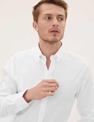 Tailored Fit Pure Cotton Luxury Shirt