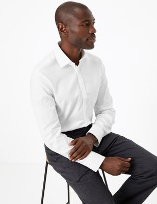Tailored Fit English Fine Cotton Shirt